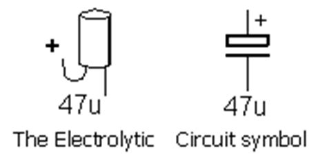 capacitor mfd symbol index www talkingelectronics