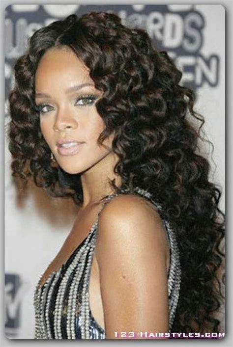long wavy hairstyles for black women long hairstyles for black women best african american