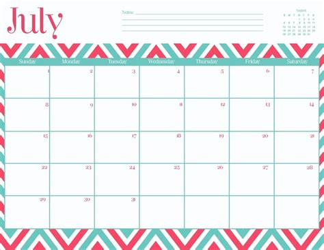 printable calendar 2016 oh so lovely oh so lovely printable calendar chevron craze