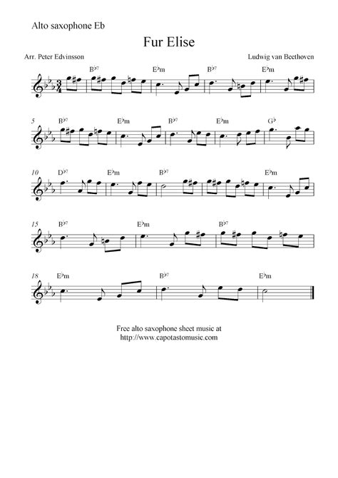 printable happy birthday sheet music alto sax fur elise free alto saxophone sheet music notes