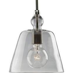 Home Depot Pendant Lighting Progress Lighting Polished Nickel 1 Light Pendant The Home Depot Canada
