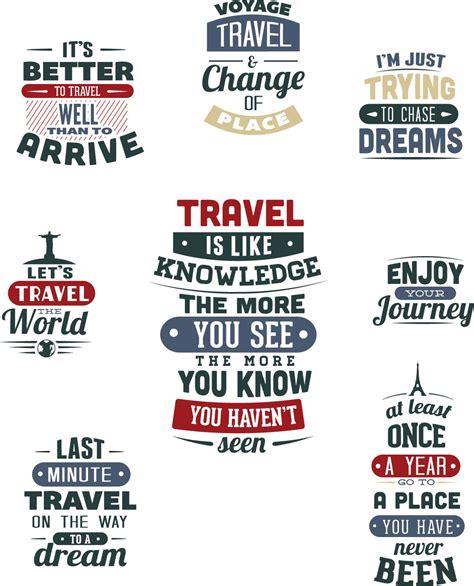 printable typography art travel t shirt templates set vector free download