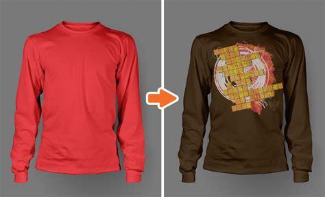 Men S Long Sleeve Shirt Mockups Product Mockups On Creative Market Sleeve Shirt Template Psd