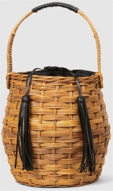 sienna miller totes handwoven aranaz marais wicker bucket bag