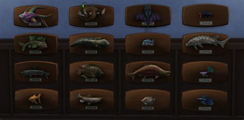Fish Decor For Home Sims 4 Fishing Guide Fish List Amp Rare Catches