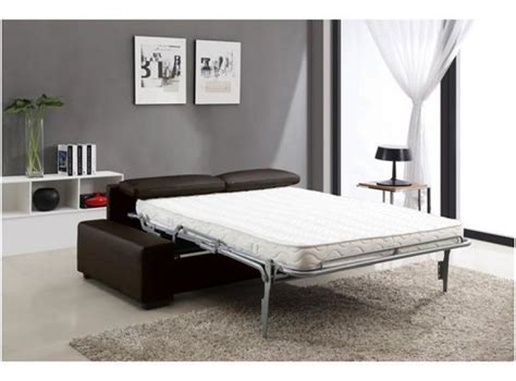 canapé lit vrai matelas photos canap 233 lit convertible avec vrai matelas