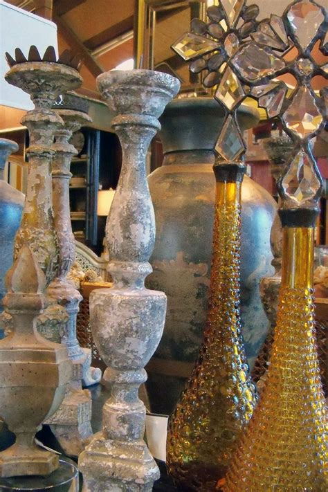 relics sculpture motifs for the home candle sticks