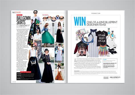 layout elle magazine elle magazine selina chua