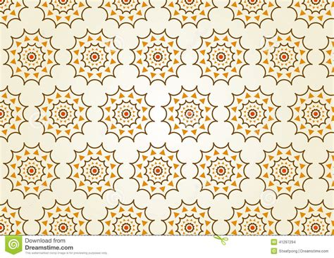 pastel circle pattern classic gear or cogwheel pattern on pastel color stock