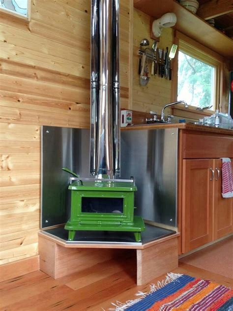 tiny house wood burning stove heat source in tiny house i think it would save space to have the heating source also