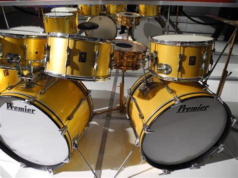 gold drum 1974 premier gold kit museum keith moon s drumkits
