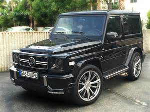 2001 mercedes g320 coupe g63 brabus black on black