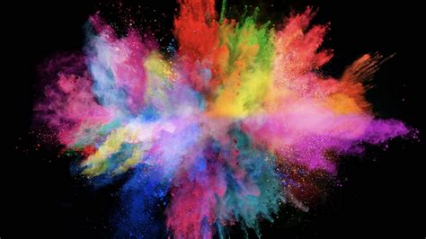 explosion of colors wallpapers interesting 1920x1080 p wide the explosion