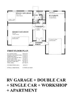 sdsg450 60 x 50 10 rv workshop apartment barn plans could be modified to vaulted great room rv garage