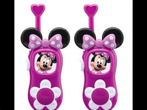 Walkie Talkie Minnie Mickey by Mickey Mouse Walkie Talkies Toys For