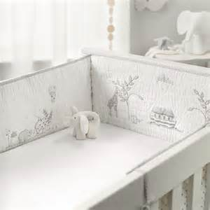 Pink Bedding Full Noah S Ark Cot Bumper Nursery The White Company Uk