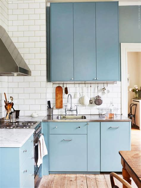 blue kitchen cabinets ikea best 25 light blue kitchens ideas on