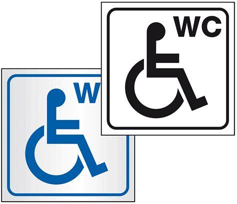 Klebebuchstaben Wc by Piktogramm Behinderten Wc Jetzt Bei Kroschke Kroschke