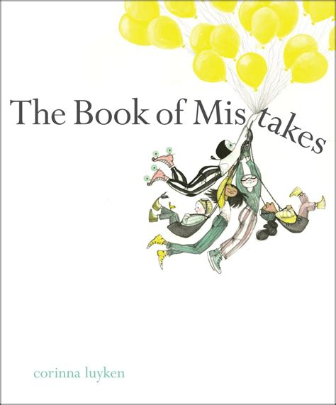 The Mistakes design of the picture book