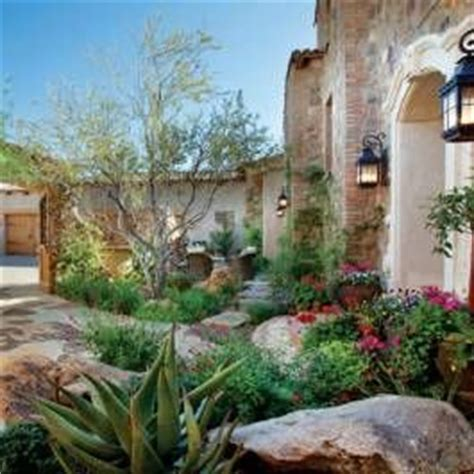 italian style backyard this italian style desert garden includes an entry courtyard designed to have a lush welcoming