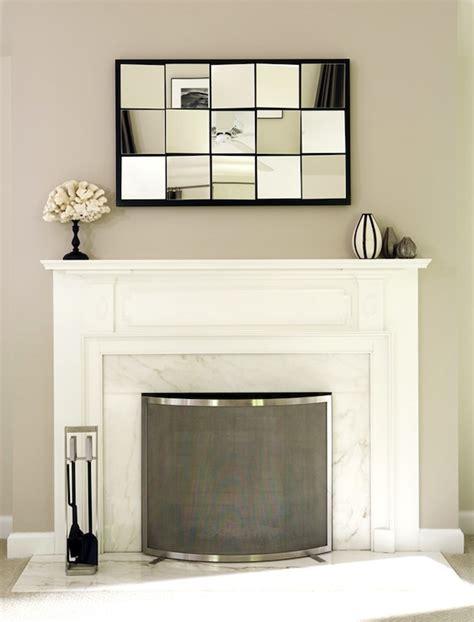 multi panel mirror transitional living room bella
