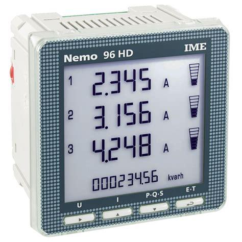 Multi Function Meter ime nemo 96 hd panel mounted single three phase network