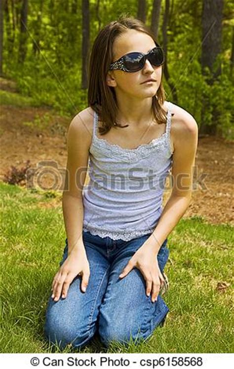 preteen spy pictures of preteen girl outside with sunglasse a cute