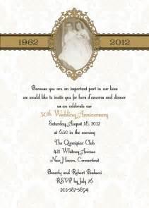 50th wedding anniversary invitations damask 50th or 25th anniversary wedding invitation diy print