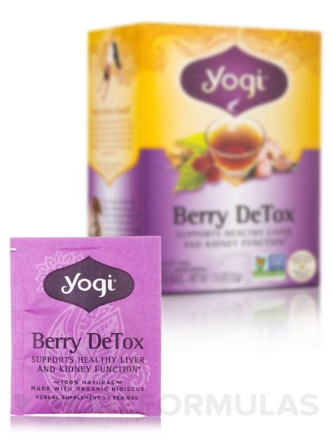 Berry Detox Tea by Berry Detox Tea 16 Tea Bags