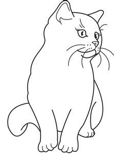 sphynx cat coloring page cat color pages printable cats coloring pages sphynx