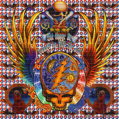Acid Free Craft Paper - grateful dead wings perforated sheet book blotter