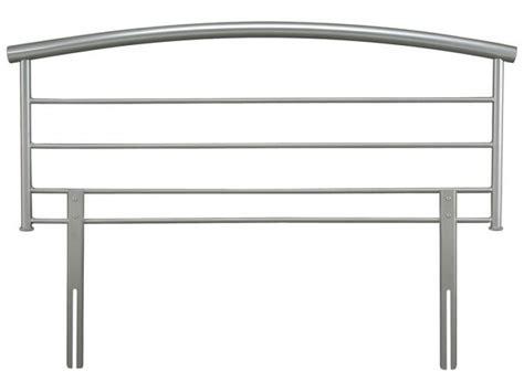 chrome headboard serene brennington 4ft 6 double silver metal headboard