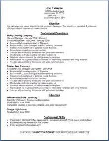 Sample Resume Templates Sample Resume 3