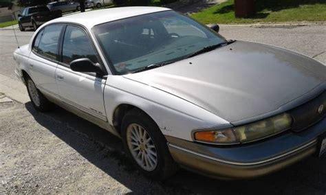 how cars run 1994 chrysler new yorker parental controls 1994 chrysler new yorker lhs 105xxx awsome parts car or repair it classic chrysler lhs 1994