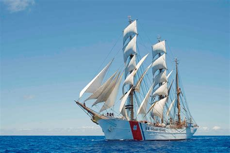boat lettering pensacola america s tall ship coast guard cutter eagle to visit key