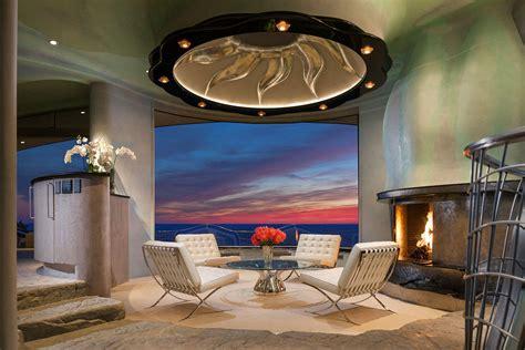 awesome Modern Beach House Interior #1: Rock-House-Laguna-Beach_3.jpg