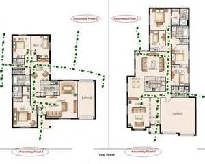 escape floor plan fire escape plans