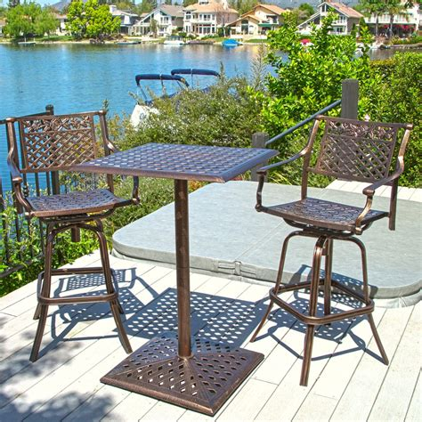 athens outdoor bar bistro set great deal furniture canada
