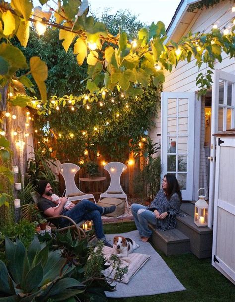 small garden ideas for tiny outdoor spaces summer 2018
