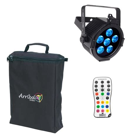 Wireless Can Lights by Slimpar 6 Irc Par Can Led Multi Color Chauvet Light With Irc Wireless Remote Arriba Bag