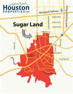 sugar land zip code map fort bend sugar land and zip code on