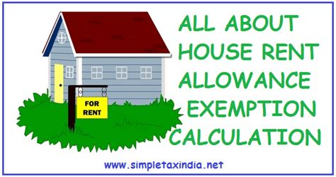 rent allowance section all about house rent allowance hra exemption calculation