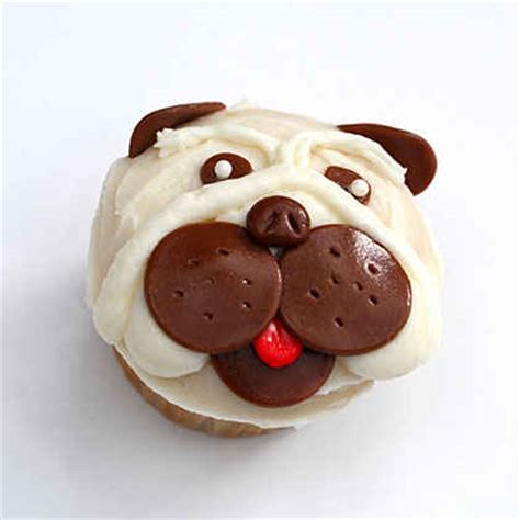 how to make pug cupcakes how to make pug cupcakes myrecipes