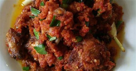 resep sambal rica rica asli manado enak  sederhana