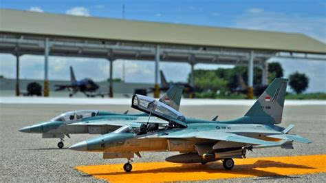 Miniatur Pesawat Tempur Harier Skypilot miniatur pesawat tempur tni au ini begitu bagus detilnya