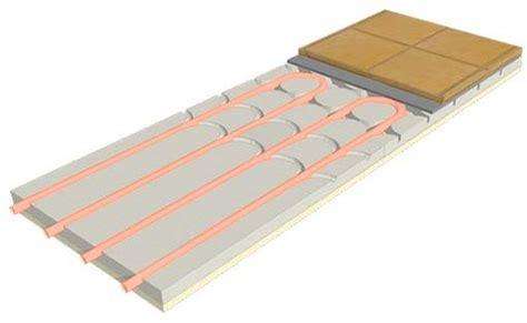 impianti a pavimento a secco riscaldamento pavimento a secco ribassato