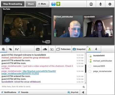 chat room tinychat tinychat for web allows you to chat listen to and draw simultaneously