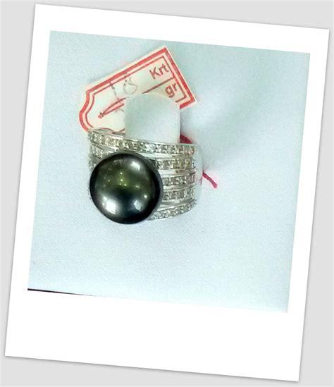 Promo Cincin Mutiara Lombok Air Tawar Khas Sekarbela 1 cincin mutiara emas 0080 harga mutiara lombok perhiasan