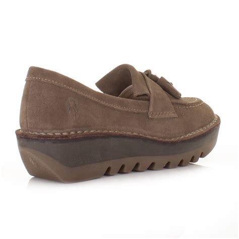 fly loafers fly loafers juno flatform desert suede shoes