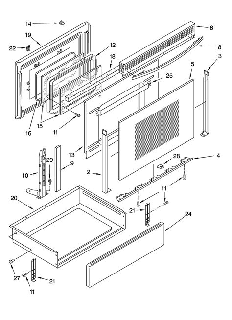 whirlpool accubake oven diagram whirlpool get free image